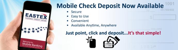 14765 Eastex Mobile Deposit web banner