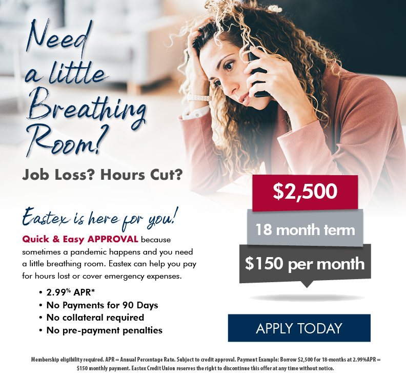 Apply for a COVID 19 Relief Loan by clicking here