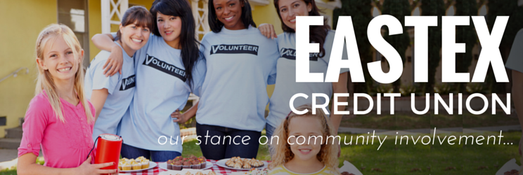 Our Stance on Community Involvement - Eastex