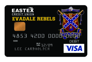 eastex fcu evadale rebels card