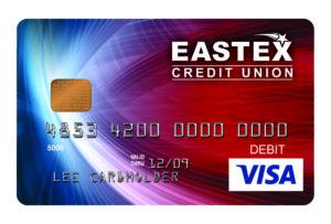 eastex fcu generic emv card