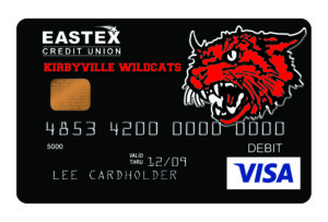 eastex fcu kirbyville wildcats card