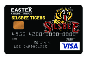 eastex fcu silsbee tigers card