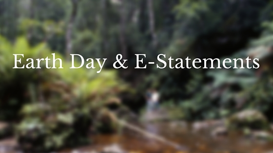 Switch to E-Statements Today