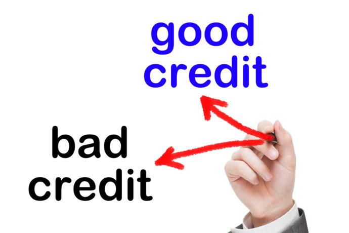 bad credit good credit