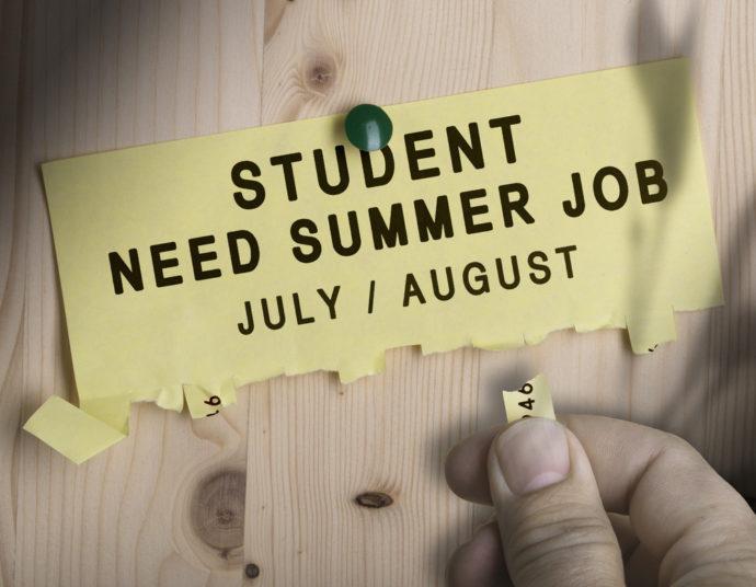 Summer jobs for Students - Summer opportunities
